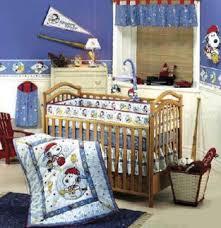 Snoopy Nursery Decor Snoopy Baby Bedding And Peanuts Baby Crib Sets