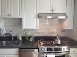 Grey Subway Tile Backsplash Subway Tile Backsplash With Cabinets - Modern backsplash