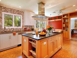 red kitchen walls with oak cabinets fabulous red kitchen walls