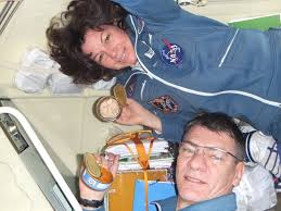 rare images from inside a soyuz during flight universe today
