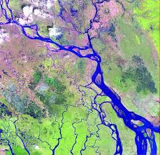 India River Map by Wwd Continents