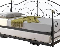 Iron Daybed With Trundle Daybed Enchanting Full Size Ikea Bygland Daybed With Decorative