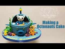 how to make a octonauts cake youtube sugar art training