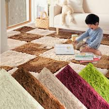 Ultra Modern Rugs Exquisite Soft Anti Skid Fluffy Rugs Shaggy Area Rug Living