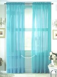 Sheer Blue Curtains 20 Best Solid Color Voile Sheer Valance Panels Images On Pinterest