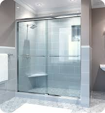 38 Shower Door Glasscrafters Es T 38 Epic Series Semi Frameless By Pass Sliding