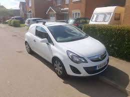 opel corsa 2002 white vauxhall corsa van 1 3cdti 2014 95ps glacier white genuine air