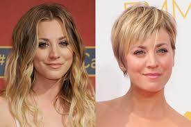 why kaley cucoo cut her hair 9 celebrities demonstrate the power of a bold haircut stylecaster