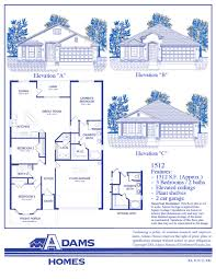 Model Home Floor Plans Featured Home U2013 The Adams Homes 1512 Adams Homes