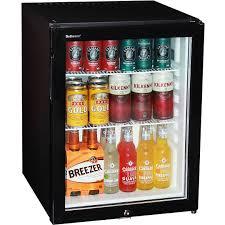 glass door bar fridge motel mini bar fridge silent asbortion cooling with triple glass
