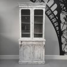 Distressed White Bookcase by Napoleonrockefeller Com Collectables Vintage And Painted Furniture