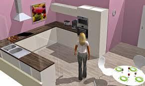 cuisine en 3d creer sa cuisine en 3d gratuitement idées décoration intérieure