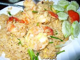 rice cuisine fried rice with prawns ข าวผ ดก ง best cuisine menu