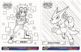 free digimon printable activity sheets digimon fusion show u0026
