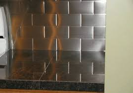 Flux Studios Lineage Hourglass Stainless Steel Tile Stainless - Stainless steel tile backsplash