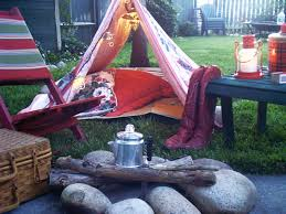 ash tree cottage cozy u0026 red backyard camping