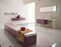cool white bathroom ideas with spa in purple accent furniture cool white bathroom ideas with spa in purple accent