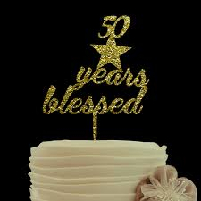 online get cheap wedding cake topper 50 years aliexpress com