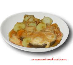 cuisiner du congre congre au vin blanc et pommes de terre recette companion moulinex