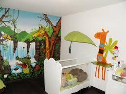 chambre jungle grand chambre jungle stickers animaux et savane with avec
