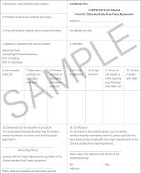 guide to using chafta to export and import goods department of