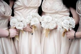 Bridesmaid Flowers Paper Wedding Flowers Buttonholes Corsages Accessories Shropshire