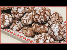 elsamakeup cuisine recette crinkles chocolat