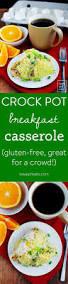 thanksgiving for a crowd crock pot breakfast casserole iowa eats