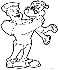 father u0027s day color page coloring pages for kids holiday