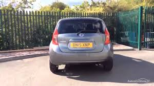 dark grey nissan versa nissan note acenta premium grey 2015 youtube