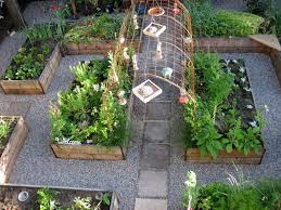Backyard Kitchen Garden Small Space Backyard Vegetable Garden Garden Trends