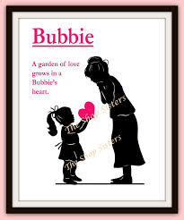 mothers day gift for nanny items similar to s day grandmother bubbie gift