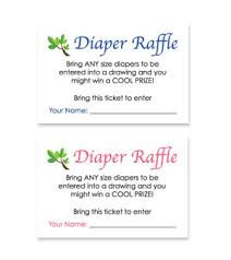 monkey theme free printable baby shower diaper raffle tickets