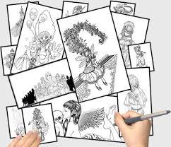yamada parker u0027s drawing manga characters