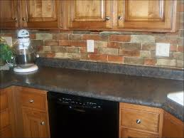 Peel And Stick Backsplash For Kitchen Kitchen Brick Veneer Cost Stone Kitchen Backsplash Peel And