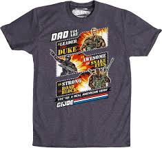 gi joe father u0027s day t shirt gi joe mens t shirt
