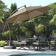 Cantilever Patio Umbrella With Base Costco Umbrella 9 Market Umbrella Costco Patio Umbrella Cover