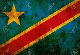 Dr Congo Flag Grunge Democratic Republic Of The Congo Flag Stock Photo Picture