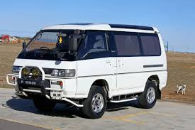 mitsubishi wagon 1990 1990 mitsubishi delica 4x4 jdm camper van for sale
