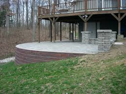 Sealing A Flagstone Patio by Patio Ideas Raised Patio Images Raised Concrete Patio Designs