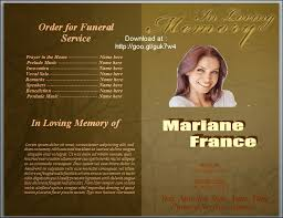 sles of memorial programs 28 templates for funeral program the funeral memorial