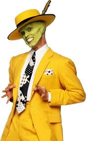 the mask costume the mask yellow suit stickers by juhsaying redbubble