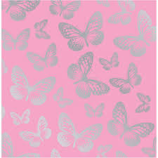 pink wallpaper for walls silver and pink butterflies pink