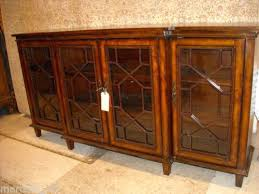 storage console table glass door cabinet accent dining buffet