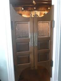 Interior Cafe Doors Custom Length Poplar Swinging Cafe Doors Saloon Interior