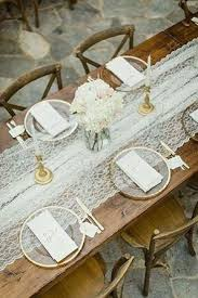 Table Runners Cover It Up 9 Trending Table Runners For Weddings Mywedding