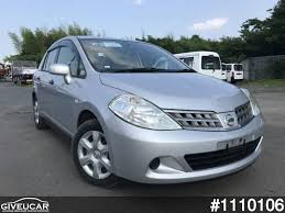 nissan japan used nissan tiida latio from japan car exporter 1110106 giveucar