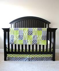Crib Bedding Green Lime Green Crib Bedding All Modern Home Designs Fashionable