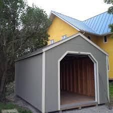 Shed Overhead Door Mini Garage Series Storage Sheds Better Way Sheds