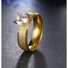 man steel rings images Rings 9261 stainless steel rings for women men gold jpg